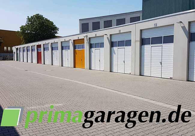 Konversionsobjekte - Neubau und Erstvermietung eines Premium-Garagenhofes in Frechen mit 75 Garagen