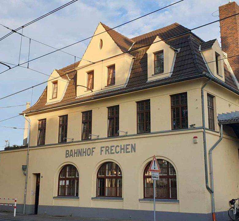alter Bahnhof Frechen nachher Portfolio